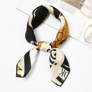 Silky scarves neck - purse - hair band